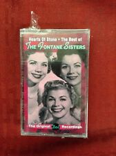 "THE FONTANE SISTERS - ""HEARTS OF STONE - THE BEST"" - VARESE SARABANDE Cassette"