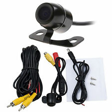 Wide Angle Reversing Parking Security Camera Rear Front View Cam AV Interface