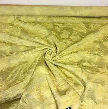 Lussuoso oliva oro Ciniglia Tappezzeria Stoffa 3.5 METRI