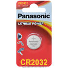 """2x Panasonic CR2032 Lithium POWER Batterie Knopfzelle 3V Blister"