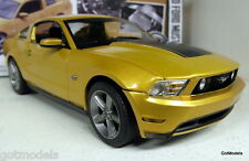 Greenlight escala 1/18 1844 2010 Ford Mustang Gt Oro Ltd 504 un. Modelo Diecast