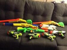Huge Lot of 9 Buzz Bee Dart Air Gun/Rifle Double Shot/Tek 6/Tek 10/AirMax 6/Hawk