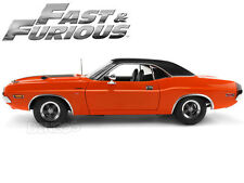 """Fast and Furious"" 1970 Dodge Challenger R/T 383 Magnum 1:18 Scale Model"
