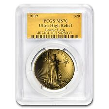2009 Ultra High Relief Double Eagle MS-70 PCGS - SKU #64821