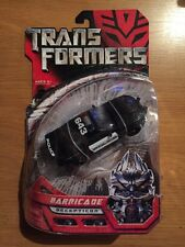 Transformers Barricade Decepticon Action Figure, MISP