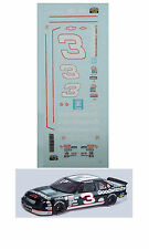 Dale Earnhardt #3 Goodwrench Lumina 1/64 scale decal AFX Tyco Lifelike