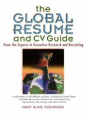The Global Resume and CV Guide, Thompson, Mary Anne, Good Book