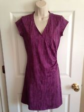 NWOT ATHLETA Petite Purple Short Sleeve Nector Dress Lycra, XSP