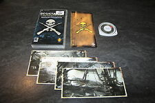 JEU PSP RESISTANCE RETRIBUTION EDITION COLLECTOR COMPLET + 4 CARTES POSTALES
