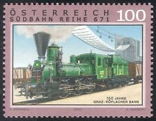 Austria 2010 Trains/Steam Engine/Locomotive/Rail/Railways/Transport 1v (at1007)