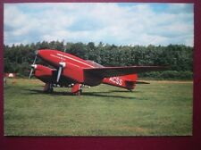 POSTCARD AIR DH88 COMET