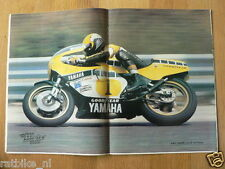 MV8013-POSTER ROBERTS YAMAHA,OFF THE ROADS,KAWASAKI