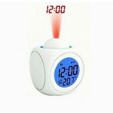 Multi-functional LED Digital Alarm Projection Clock Voice Talking Temperature &