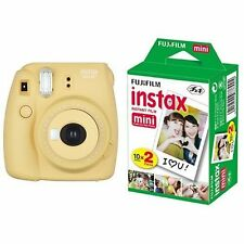 Fujifilm INSTAX Mini 8 Plus Instant Camera Honey Colour + 20 Film Set