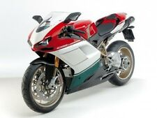 Red White Black Complete Fairing Injection for 2007-2012 Ducati 848 1098 1198