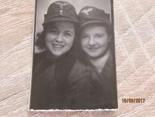Paßfoto sexy RAD BDM Mädels, weibliche Flakhelfer , Uniform Luftwaffe ( 1 )