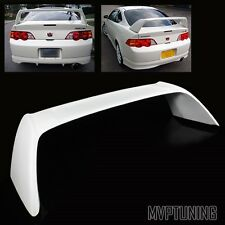For 2002-2006 Acura RSX DC5 White Fiber Glass JDM Type-R Rear Trunk Spoiler Wing