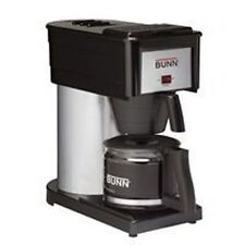 NEW BX-B BUNN 10 CUP COFFEE MAKER BREWER BLACK STAINLESS NEW USA