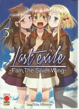 LAST EXILE FAM THE SILVER WING 3 PLANET MANGA PANINI NUOVO SCONTO 10%