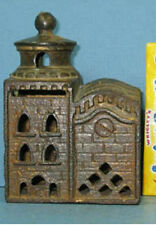 PRICE CUT * 20's MOSQUE (3 STORY)  BLD OLD CAST IRON BANK GUARANTEED ORIG CI 774