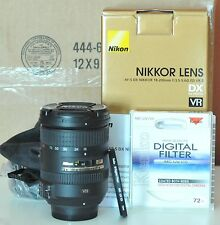 Nikon NIKKOR 18-200mm f/3.5-5.6 II DX G SWM AF-S VR IF M/A ED Lens Mint in Box w