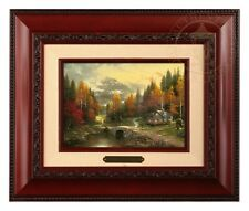 Thomas Kinkade The Valley of Peace - Brushwork (Brandy Frame)