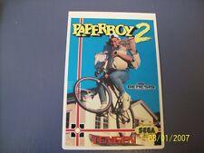 PAPERBOY2  Genesis Vidpro Card