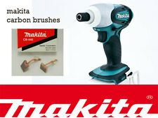 Makita 18V Impact Driver Bhp451 BTD140 btd146 Genuine CARBON BRUSHES CB440