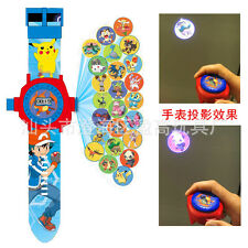 Fun Pokemon Action Figures 24 Projection Wrist Watch Kids Boy Girl Toy Xmas Gift
