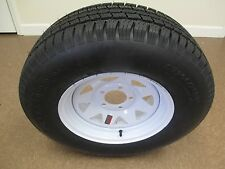 1 New ST 205/75R14 Supercargo Radial Trailer Tire and Wheel 6 Ply 2057514 75 14