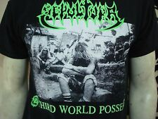 SEPULTURA.NEW LRG SHIRT.THRASH METAL.OBITUARY.PESTILENCE.KRATOR.METALLICA.PANTER