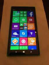 """Nokia Lumia 1520 AT&T 16GB 6"""" Screen Windows Smartphone Bright Green Mint!"""