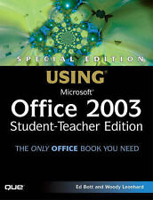 Special Edition Using Microsoft Office 2003, Student-Teacher Edition-ExLibrary