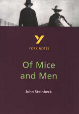 York Notes on John Steinbeck's  Of Mice and Men by Martin Stephen (Paperback,...