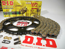 HONDA NC700X '12/15 DID GOLD X-Ring PREMIUM CHAIN AND SPROCKETS KIT *JAPAN STEEL