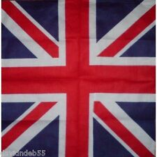 UNITED KINGDOM FLAG BANDANA UK Union Jack Britain Scarve Scarf Head Skull Wrap