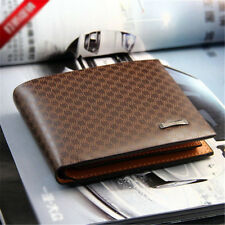 Cool Stylish Men's PU Leather Wallet Pocket Card Clutch ID Credit Bifold Purse
