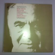 LP - Beethoven 5 Columbia - Schubert 8 New York - Bruno Walter Columbia Y 30314