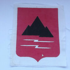 22nd mountain division  printed  vintage american  vietnam  cloth patch