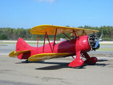 Giant 1/4 Scale Waco UPF-7 Biplane Plans and Templates