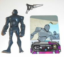 """2010 Ben 10 Alien Force ~ FOREVER KNIGHTS + Card ~ 4"""" Action Figure (B50)"""