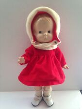 "Vintage Effanbee Stamped Patsy Jr Composition Doll 11"" + Clothes"