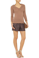 NWT BURBERRY PRORSUM WOMENS $795 CASHMERE SWEATER SZ M MADE IN ITALY