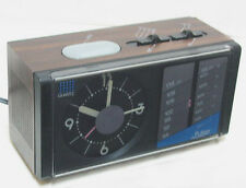 Pulser 44-2141-8 ANALOG Alarm Clock / AM,FM Radio Battery / AC Works Perfectly