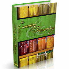 Canning and Preserving Vintage Books on DVD Dehydrating Recipes Survival Pickle