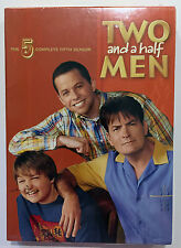 Sealed TWO AND A HALF MEN Season 5 Set (DVD, 2009, 3-Discs)/Charlie Sheen