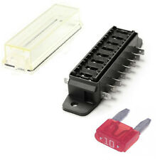 8 Way MINI Blade Fuse Box / Holder – 12v & 24v Universal