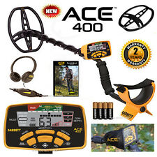 NEW GARRETT ACE 400 Metal DETECTOR With FREE ACCESSORY BUNDLE & FREE SHIPPING !