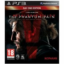 METAL GEAR SOLID V THE PHANTOM PAIN Day One Edition ps3 GIOCO NUOVO di zecca