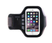 "Neopreno Transpirable Malla Parrilla Iphone 6 (4,7 "") Ultimate Brazalete Negro 44cm"